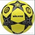 star laminated football ball number 5 4