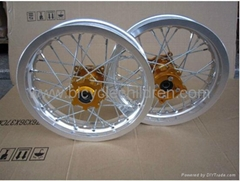 "Front 12"" Rear 12"" pit  Bike Rim  Kit"