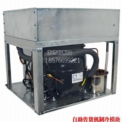 自动售货机制冷机 自助售卖机制冷模组 售货机压缩机