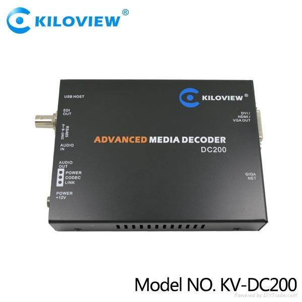 SDI IPTV RTMP decoder - kv-dc200 - Kiloview (China Manufacturer