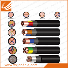 0.6/1KV VV32-Copper Conductor PVC