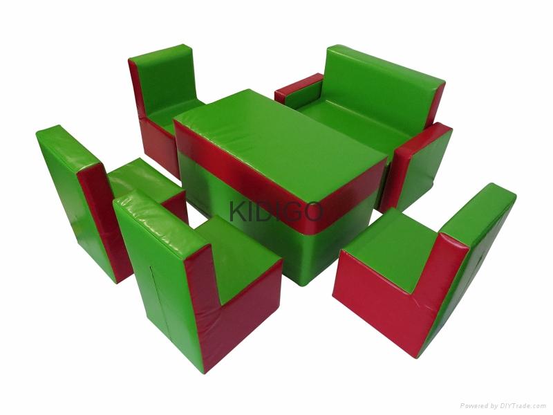 Children soft play furniture  3