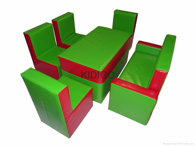 Children soft play furniture  2