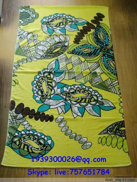 printed towel 1