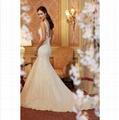 2015 Hot Lace Mermaid Wedding Dress Sexy Bridal Gown Custom Size 2-4-6-8-10-12-1