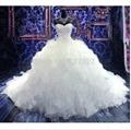 Hot Sale Chapel Train Ball Gown Wedding