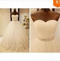 Free Shipping 2015 New Arrival Bridal Wedding Dress