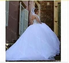 Said Mhamad 2015 Long Sleeve Wedding