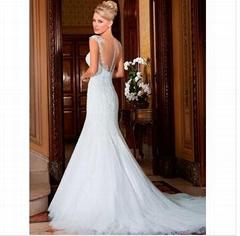 Vestido De Noiva Sweetheart See Through
