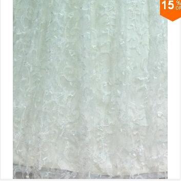 2015 Sexy Corset Beading Sweetheart Weddingl Gown Without Train vestidos de noiv 2