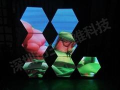 三鑫维-LED六角屏