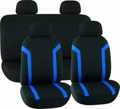 CAR SEAT COVERS BLACK & BLUE Mesh HY-S1006