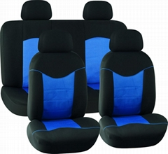 CAR SEAT COVERS RED & BLACK Mesh HY-S1023