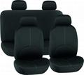 CAR SEAT COVERS BLACK Fabric HY-B2010