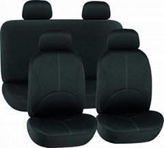 CAR SEAT COVERS BLACK Fabric HY-B2010