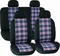 CAR SEAT COVERS BLACK Cotton HY-L3010