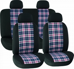 CAR SEAT COVERS BLACK Cotton HY-L3010
