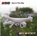 SYMA X5C-1 (Upgrade Version SYMA X5C) RC Drone 6-Axis Remote Control Helicopter  2