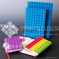 Promotional gift silicone cover journal