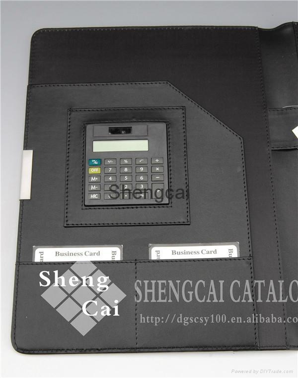 High quality A3 pu leather presentation fashion portfolio folder  2