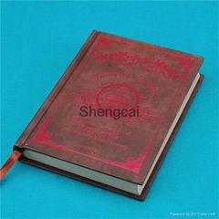 European style special design paper printing mini custom agenda