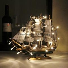 廠家直銷聖誕節日裝飾LED電池燈串彩燈