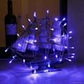 廠家直銷聖誕節日裝飾LED電池燈串彩燈 3