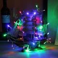 廠家直銷聖誕節日裝飾LED電池燈串彩燈 4