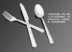 酒店不锈钢刀叉勺餐具