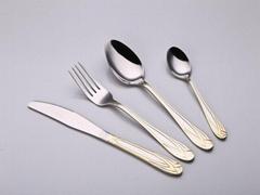 中国制造不锈钢餐具牛排刀叉