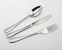 Stainless steel cutlery;flatware;cutlery set;spoon,knife,fork
