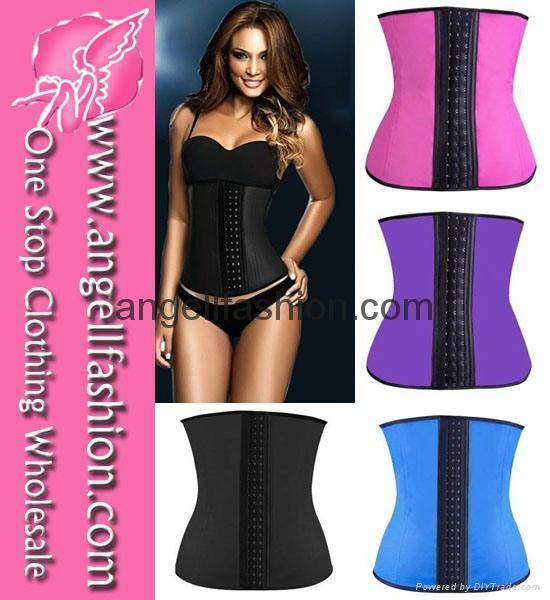 Leopard Print Hot Sexy Cheap Waist Training Corset Wholesale 2