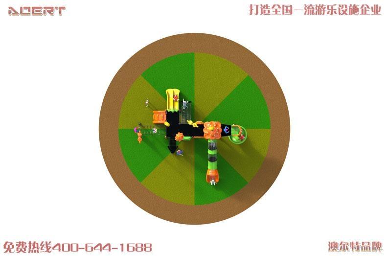 瀋陽生廠廠家奇樂谷品牌滑梯 3