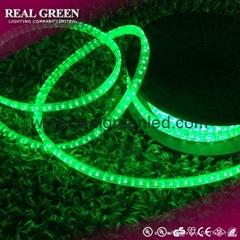 150Ft 220V 2-Wire Standard Emerald Green LED Rope Light