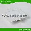 6W square LED panel light