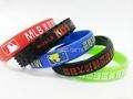 Wholesale Silicone wristbands Twist