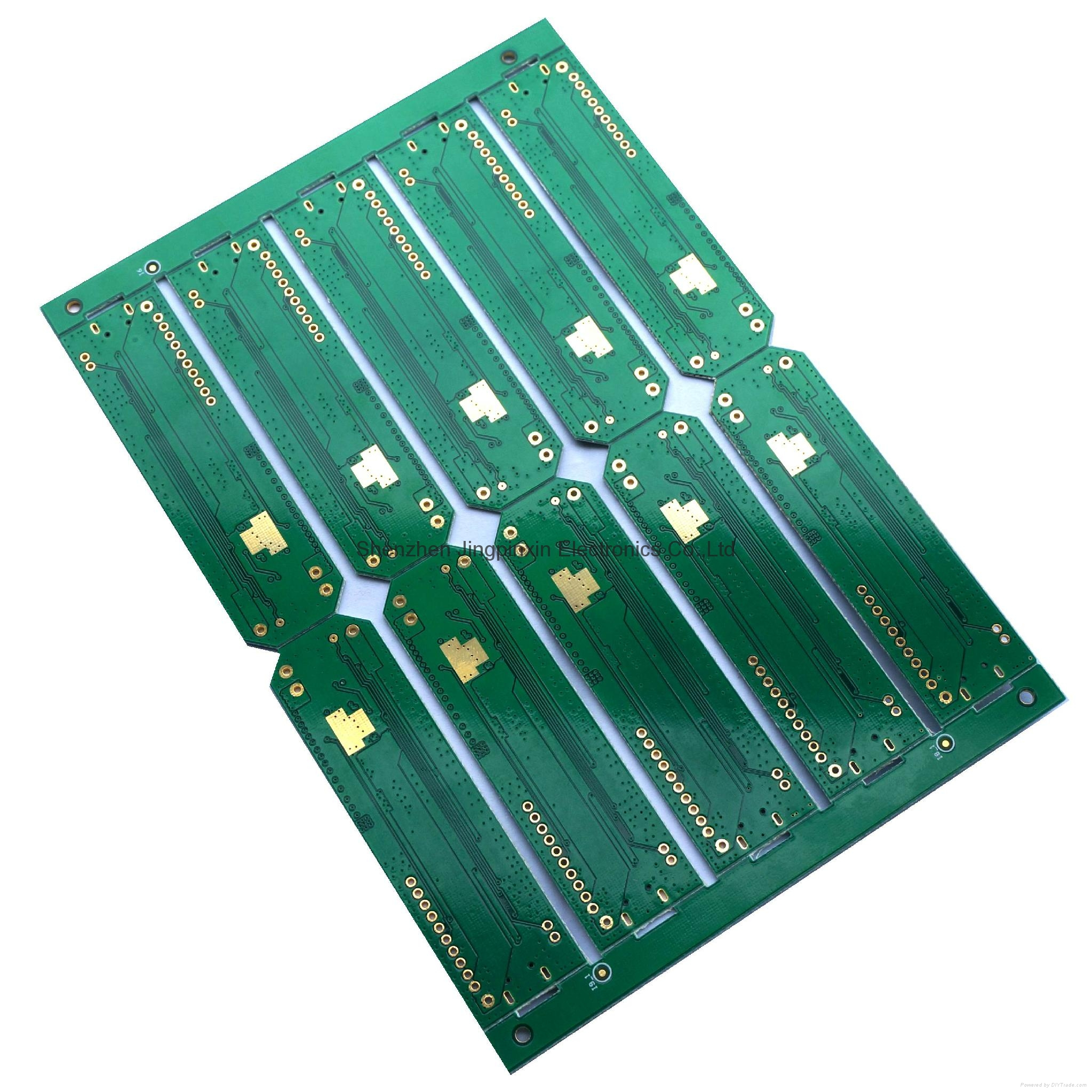 Immersion Gold Surface Finishing 4 Layer Printed Circuit Boards Board The Finished 1