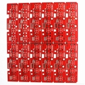 FR-4 Rigid PCBs With Red Solder Mask