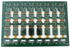 4-layers Flex-rigid Printed Circuit Boards