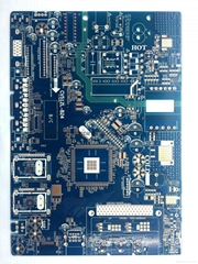 Immersion Gold PCB for Hard Driver with 6 Layers