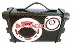 背包款220V低音炮