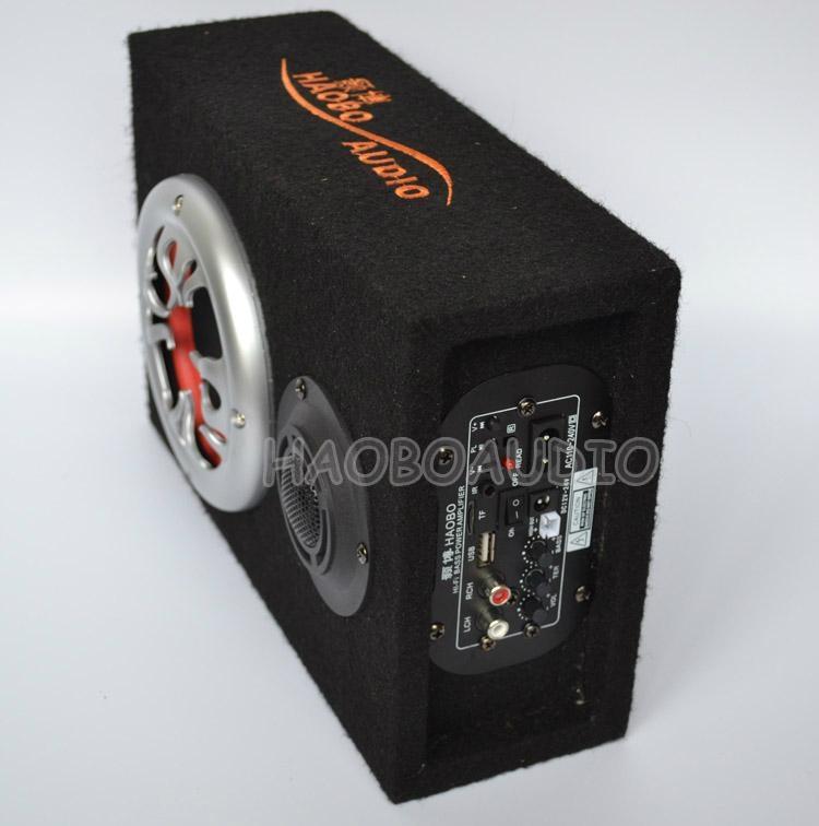 汽車插卡低音炮5寸220V 2