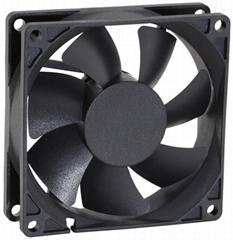 80 x 80 x 25 mm 12v dc cooling fan 8025