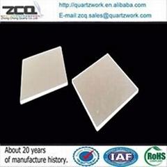 Transparent quartz slides 75*25*1mm