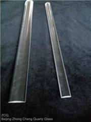 Quartz glass optical cylindrical lens