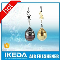 Hanging pretty air freshener popular car perfume wholesale