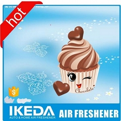 Very very cheap paper air freshener accept custom supplier