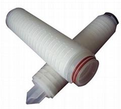 30 inch Polypropylene membrane PP Pleated Filter Cartridge
