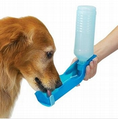 Foldable Pet  Water Drinking Bottle Dispenser