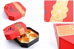 Variety Mooncake Boxes, Paper Gift Packaging Boxes for Mooncakes